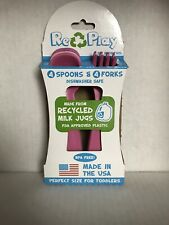 Re-Play Toddler Utensils 6+months. FDA Approves Recycled Plastic Made In The USA