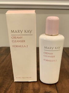 Mary Kay Creamy Cleanser Formula 2 .Full Size 6.5 fl oz New With Box #1058