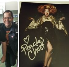 PEACHES CHRIST signed 8X10 rupaul drag queen race w/PROOF #3