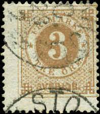 Sweden Scott #28 Used