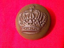 PREUSSEN: Alter Uniformknopf Militärknopf Wappenknopf mit Krone 1.WK WW I (14)