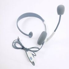 GENUINE MICROSOFT XBOX 360 OFFICIAL WIRED CHAT HEADSET W/ BOOM MIC