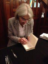 Donna leon libro original signed firmado Autograph firma autógrafo