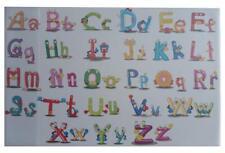 """Schreibtischunterlage 58,5x38,5cm / mit Alphabet """"ABC"""""""