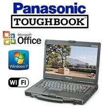 RUGGED PANASONIC CF-53 TOUGHBOOK Intel Core i5 / 8GB / 1TB NON-TOUCH WINDOWS 7