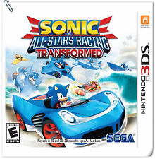 3DS Sonic & All-Stars Racing Transformed Nintendo SEGA Racing Games