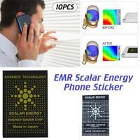 10PCS Cell Phone Anti-radiation Shield sticker EMR EMF Protection Technology