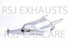 EXHAUST SILENCER VAUXHALL ASTRA G Estate  1.6 Petrol 2002-12-> 2005-05