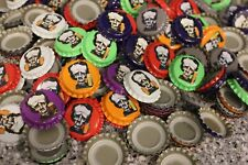 500 Raven Brewery Uncrimped Beer Bottle Caps All 7 Mixed Colors Edgar Allan Poe