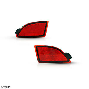 Fit for 14+MAZDA 3 AXELA GS LED Rear Bumper Red Car Reflector Tail/Brake Light