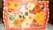 """Annie Modica Large Floral Tray 15""""X21"""""""