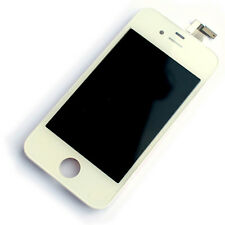 LCD display+digitizer touch screen for Apple iPhone 4 NEW white frame assembly
