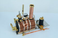 Horizontal steam boiler models Live Steam with Steam whistle