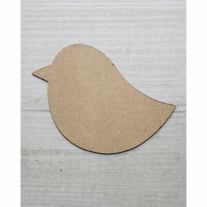 WOODEN MDF SHAPES BIG BIRD SCRAPBOOK CRAFT EMBELLISHMENTS KIDS GIFT CARD MAKING