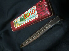 Hohner vintage Echo Harmonica w/original box