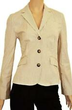 Cotton Business Striped Coats, Jackets & Vests for Women