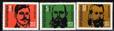 Bulgaria 1972 Sc2001-3 Mi2139-41 3v mnh Cent.of the births of Bulgarian Patriots
