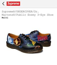df4f1b7dc87 Supreme Undercover Dr. Martens x Public Enemy 3-Eye Men s Shoes Size 10