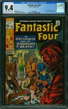Fantastic Four #96 CGC 9.4 -- 1970 -- Mad Thinker. A+ centering #1566240005