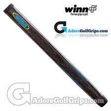 Winn Excel Tour Pistol Putter Grip - Black / Blue / Green + Free Tape
