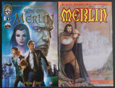 Merlin #1 (1990) and Son of Merlin #1 (2013)