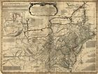 """18"""" x 24"""" 1771 Map A general map of the middle British colonies in America"""
