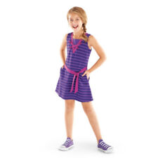 American Girl CL REBECCA SEASHORE DRESS FOR GIRL SIZE 16 Large Purple Stripe NEW