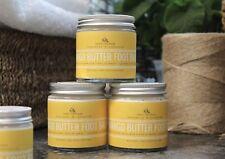 Foot Balm, Mango butter, Exfoliating, Natural, Handmade, New, Large, Vegan