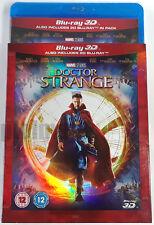 DOCTOR STRANGE New 3D + 2D BLU-RAY Movie w/ SLIPCOVER Marvel Studios 2016 MCU Dr
