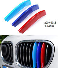 3Pcs /  For BMW 2014-2015 7 Series Front Center Grille Grill Cover Trim 3Color
