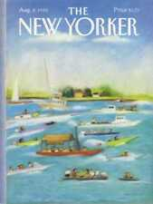 New Yorker COVER 08/08/1988  Pleasure Boats DAVIS