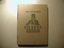 Carl Schuchhardt Die Burg im Wandel der Weltgeschichte 1931