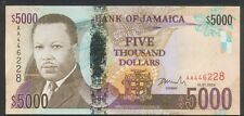 2009 Jamaica 5000 Dollars,(AA) Hybrid Polymer Note - UNC