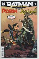 BATMAN: PRELUDE TO THE WEDDING: ROBIN VS. RA'S AL GHUL #1 DC comics NM 2018