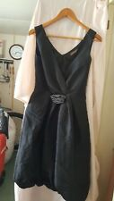 WEDDING /BRIDESMAID/PROM/PARTY DRESS SLEEVELESS BLACK HUNTERS AND GATHERERS 34CH