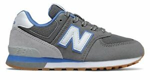 New Balance Kid's 574 Sport Pack Little Kids Male Shoes Grey with Grey
