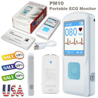 FDA Handheld tragbare EKG-Maschine Herzschlag EKG-Monitor USB Bluetooth Recorder