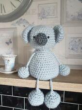 Email Crochet animal pattern amigurumi chunky cuddly soft toy koala bear