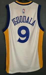 MEN'S NBA GOLDEN STATE WARRIORS ANDRE IGUODALA BASKETBALL SHIRT JERSEY SIZE M