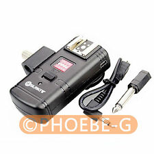 3in1 2.4GHz Wireless Flash Trigger Receiver for CANON NIKON with Umbrella Holder