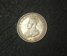 1921 plain Australian Threepence,