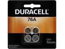 4 Pack Duracell 76A LR44 Alkaline Batteries Exp. 2022