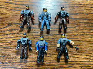 Halo Mega Construx NMPD Lot Of 5 Without Weapons Fast Shipping F2