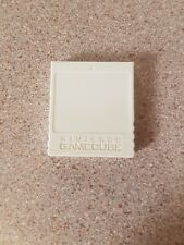 Genuine Official White DOL-020 1019 Block Nintendo GameCube Memory Card