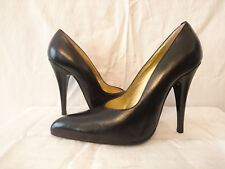 """Court shoes """"Black """" years 1980 Remarcello T.38,5"""
