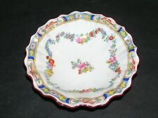 Vintage Minton flowers garlands Trinket Dish with scalloped edges