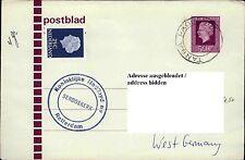 Schiffspost Schiff SEROOSKERK Brief Postblad Brief Shipletter Paquebot ab TANGA