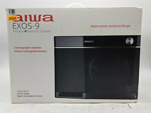 Open Box Aiwa EXOS-9 Portable Bluetooth Speaker -SB1857