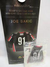 JOE SAKIC, 2006 Team Canada McDonald's Olympic Hockey Mini Jersey