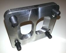 """T3 toT4 Divided Turbo Flange Adapter Plate Twin Scroll 1/2"""" for Cummins Manifold"""